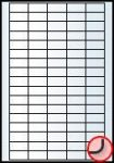 Rayfilm Univerzális címke (etikett) 38x21,2 mm 65címke/lap  20lap/dob (R0100 0102NC)
