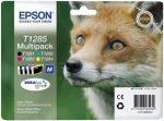 Epson T1285 eredeti multipack (Bk(T1281)+C(T1282)+M(T1283)+Y(T1284))