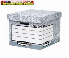 Archiváló konténer, karton, standard, BANKERS BOX® SYSTEM by FELLOWES® 00810