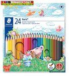 STAEDTLER Színesceruza NC 24db-os - 144NC24 (színes ceruza)