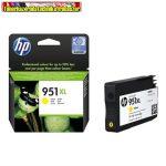 HP 951XL CN048AE No 951XL sárga Officejet Pro 8100 8600 eredeti tintapatron (1500 old.)