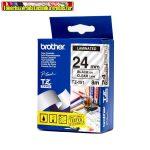 Brother TZ szalagok, TZ-151 átlátsz/fekete 24mm (TZe-151)
