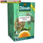 Dilmah Green tea 30gr 20filter/dob moroccan mentás