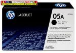 Eredeti Hp CE505A toner( Fekete festékkazetta Laserjet P2035, P2055 sorozatok nyomtatóihoz (2300 old.)