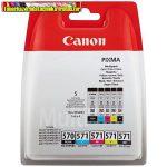 Canon eredeti multipack (PGI-570bk,CLI-571C,M,Y,BK) PGI570,CLI571