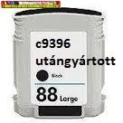 04-88  Hp C9396 Nr 88 XL black (58,5ml) utángyártott patron