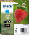 Epson eredeti T2982 tintapatron C13T29824010 cyan 3,2ml