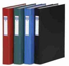 DONAU Gyűrűs könyv, 4 gyűrű, 40 mm, A4, PP/karton, (gyűrűskönyv)