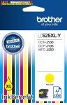 Brother LC525XL yellow eredeti tintapatron (1300old. 5%)