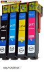 Epson T2631,T2632,T2633,T2634 26XL UTÁNGYÁRTOTT TINTAPATRONOK