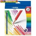 Lyra Osiris háromszögletű 24 db-os színesceruza 2521240 (színes ceruza)