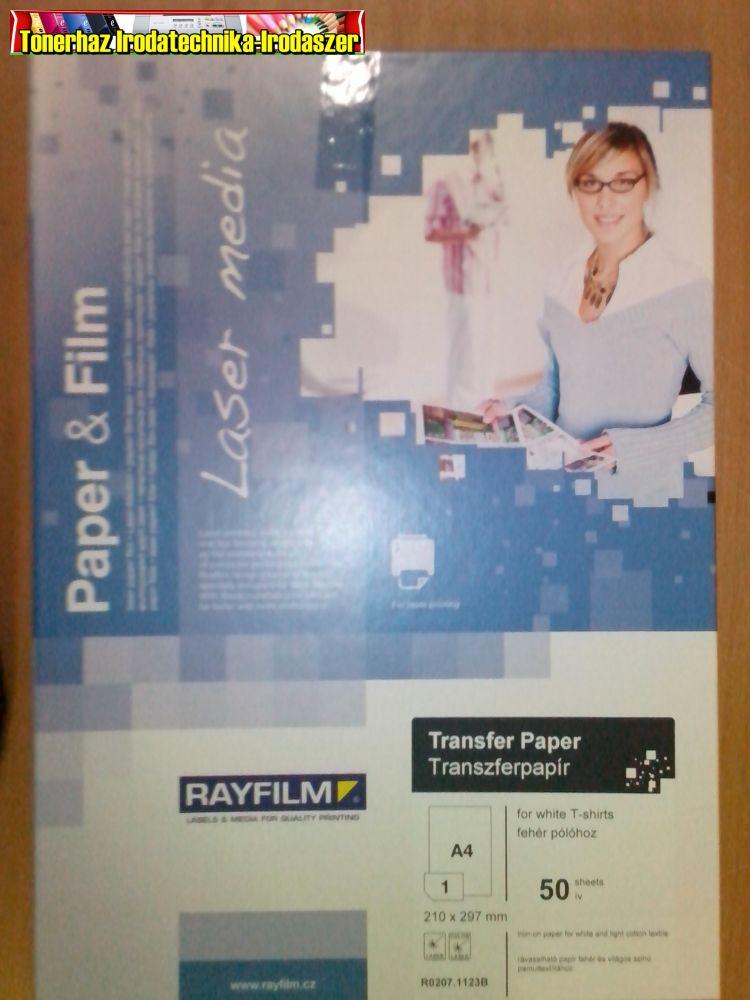93c48550f8 Rayfilm pólóra vasalható fólia lézernyomtatóhoz világos pólóra 50ív/cs (  R02071123B)
