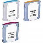 Hp C4841A,C4842,C4843 utángyártott tintapatronok no.10