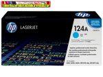 Eredeti Hp Q6001 Cyan (Ciánkék festékkazetta Color Laserjet 1600 / 2600N / 2605 / CM1015 / CM1017 nyomtatókhoz)  (2000 old.) 124A