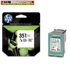 Hp 351XL CB338EE Tri-colour eredeti (high capacity) (nagykapacitású színes tintapatron Officejet j5780,j6410 Photosmart C4280,C5280,Deskjet D4260 (14ml/570 old.)