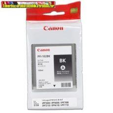 CANON eredeti tintapatron PFI102 BK (PFI-102)