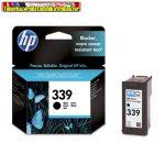 HP C8767E No 339 fekete tintapatron Deskjet 5740 / 5940 / 6540 / 6840 / 6940 / 6980 / 9800, Photosmart 8050 / 8150 / 8450 / 8750 / D5160 / Pro B8350, 2575 / 2610 / 2710, Officejet 6310  21ml/800 old.