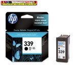 HP C8767E No 339 fekete tintapatron Deskjet 5740 / 5940 / 6540 / 6840 / 6940 / 6980 / 9800, Photosmart 8050 / 8150 / 8450 / 8750 / D5160 / Pro B8350, 2575 / 2610 / 2710, Officejet 6310  21ml/800 old.