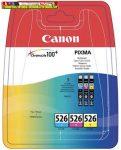 Canon CLI-526 multipack (C,M,Y)  eredeti tintapatron (CLI526,CLI 526)