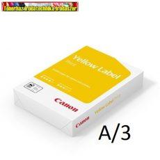 Canon YELLOW LABEL (OCÉ Standard,CANON COPY) A/3 80g fénymásolópapír 500ív/cs