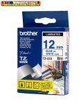 Brother TZ szalagok, TZ-233 fehér/kék 12mm (TZe-233)