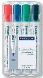 Staedtler 351 táblamarker vegyes színekben 4-es készlet (táblafilc)