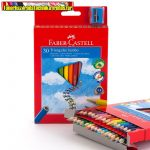FABER-CASTELL színesceruza -116530- Grip Junior háromsz. 30db/ készlet (színes ceruza)