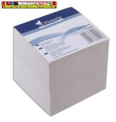 Kockablokk 9x9x9 cm ragasztott (tépőtömb,kockatömb) VIC