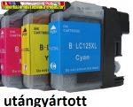 Brother LC125XL color utángyártott tintapatronok 15ml/szín