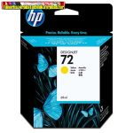 Hp C9400A No.72 eredeti tintapatron Yellow 69ml