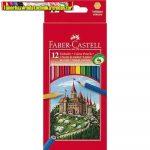 Faber Castell Színes ceruza 12-es 111212 vármintás