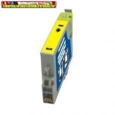 01-0614 Epson T0614 yellow utángyártott tintapatron