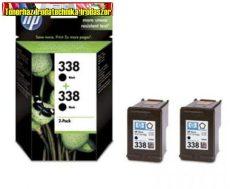 Hp C8765E No.338 Dupla csomag (CB331E)eredeti  (2*11ml/450 old.)