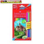 Faber-Castell Színesceruza 12db+3 Bicolor vegyes szín 110312