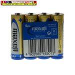Maxell LR6 AA Alkaline (ceruza) elem 4db/cs
