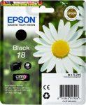 Epson 18  T1801 black eredeti tintapatron 175 old(5%) C13T18014010