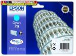 Epson  79 cyan eredeti tintapatron T7912 (6,5ml)