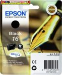 Epson 16  T1621 black eredeti tintapatron C13 T16214010 5,7ml