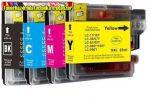 Brother LC 1100 BK,C,M,Y utángyártott tintapatronok (LC1100BK) DCP-185C , 385C , 585Cw , 6690CW , MFC-490CW , 790CW , 990CW , 5490CN , 5890CN , 6490CW , 6890CDW
