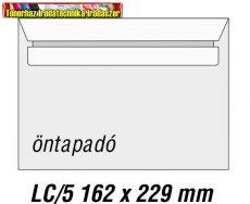 LC/5 öntapadós boriték 500 db/dob 162x229mm (LC5) DB-ra