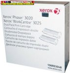 XEROX Eredeti Toner DUO PACK  Phaser 3020/ WorkCentre 3025, (2*1500 /oldal) fekete 106R03048