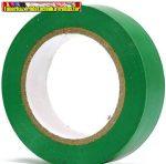 PVC szigetelőszalag 20m x 19mm zöld