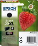 Epson eredeti 29XL BLACK  T29914010 tintapatron