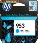 HP 953 kék  eredeti patron F6U12AE 0,7k