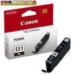 Canon CLI-551 black eredeti tintapatron 495old(5%) (CLI 551,CLI551)