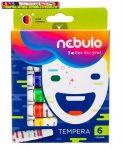 Tempera készlet, 6 darabos Nebuló (6x12ml)