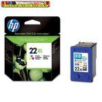 Hp C9352CE No. 22XL color eredeti tintapatron (11 ml/415old.)