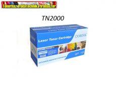 Brother TN 2000 utángyártott toner ORINK Prémium 100% ÚJ (TN2000,TN-2000) 2,5K