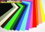 Dekorgumi 20x30 cm, 2 mm vastag különböző színekben
