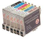 01-0802 Epson T0802 cyan utángyártott patron